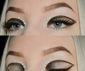 aesthetic, Easy, and eyelashes image