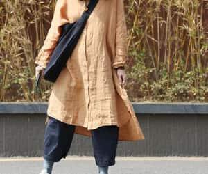 etsy, linen shirt, and plus size clothing image