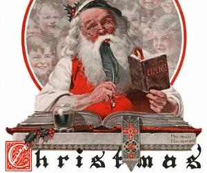 art, artist, and christmas image