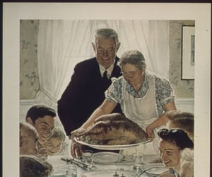 art, Norman Rockwell, and freedom from want image