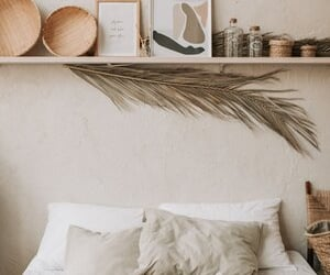 bedroom, homedecor, and interior image