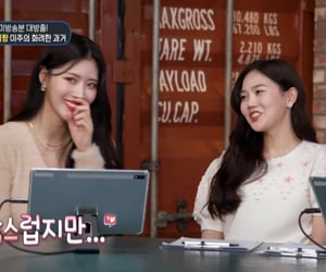 oh my girl, mijoo lovelyz, and choi hyojung image