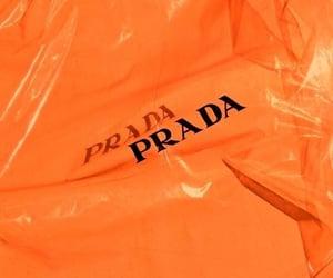 orange and Prada image
