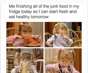 eat, meme, and full house image