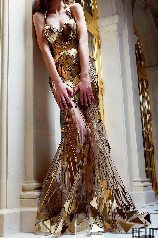dress, fantasy, and luxury image