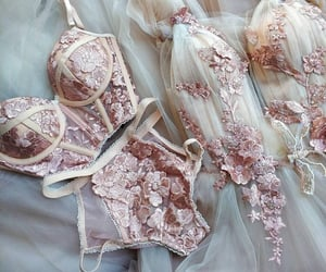 lingerie and wedding image