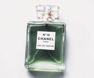chanel, green, and perfume image