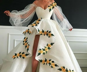 ball gown, dress, and elegant image