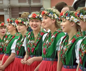 culture, slavic, and costume image