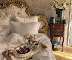 architecture, bedroom, and garden image