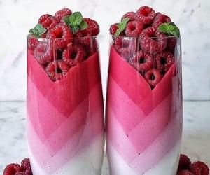berries, raspberries, and smoothie image