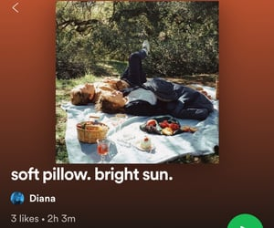 bright, soft, and spotify image