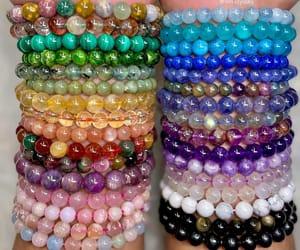 amethyst, aquamarine, and beads image