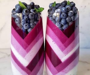 blueberry, healthy, and berries image