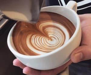 coffee art, coffee, and gif image
