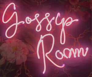 gossip, neon, and neon pink image