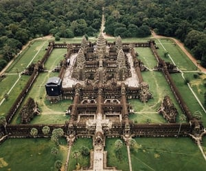 Cambodia, travel, and tempel image