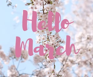 march, spring, and hello march image