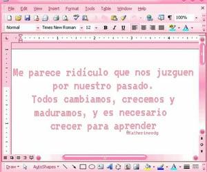 escritos, madurar, and frases image