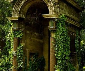 abandoned, graveyard, and sunshine image