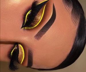 beauty, bronze, and eyeshadow image