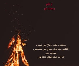 urdu, urdu poetry, and noor image