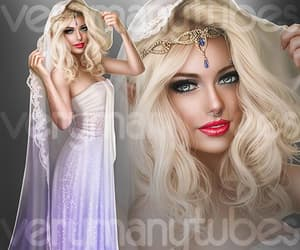 beauty, fashion, and lady image