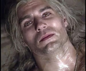 wet, geralt of rivia, and Henry Cavill image