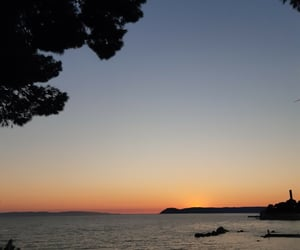 Croatia, split, and sunset image
