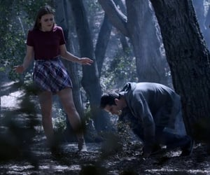 holland roden, lydia and stiles, and lydia martin image