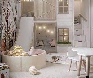 bedroom, interior design, and kids room image