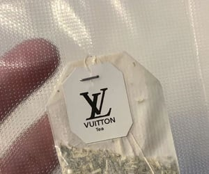 tea, drink, and Louis Vuitton image