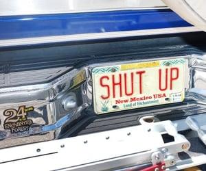 car, alternative, and shut up image