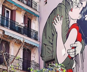 amor, belleza, and graffiti image