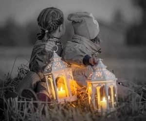 childhood, lanterns, and vintage image
