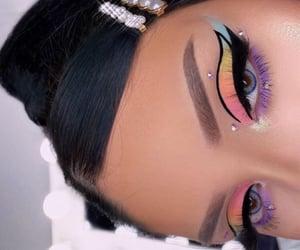 makeup, beauty, and fashion image