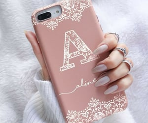 elegance, hand, and phone cover image