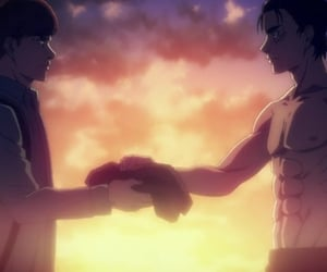 anime, levi, and tv show image
