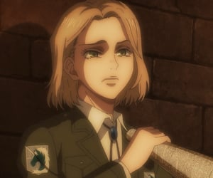 aot, anime, and hitch image