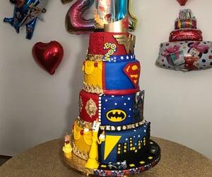 batman, cake, and princess image