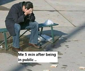 alone, antisocial, and joke image