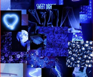 blue, aesthetic, and art image