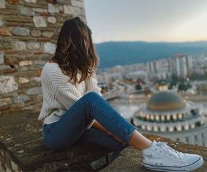 girl, outfit, and view image