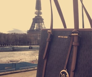 bags, eiffeltower, and luxe image