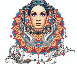 arte, belleza, and Collage image