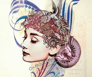 arte, audrey hepburn, and belleza image
