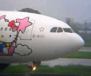 archive, hello kitty, and plane image
