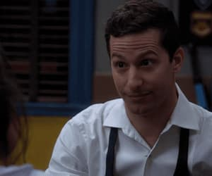 jake peralta, amy santiago, and gif image