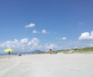 beach, brasil, and nature image