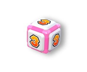dice, mario, and pink image